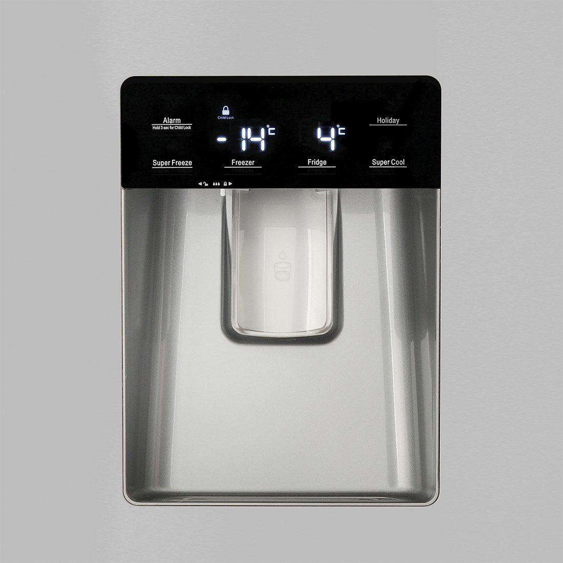 Refrigerador Elettromec French Door Inox 536 Litros 220V