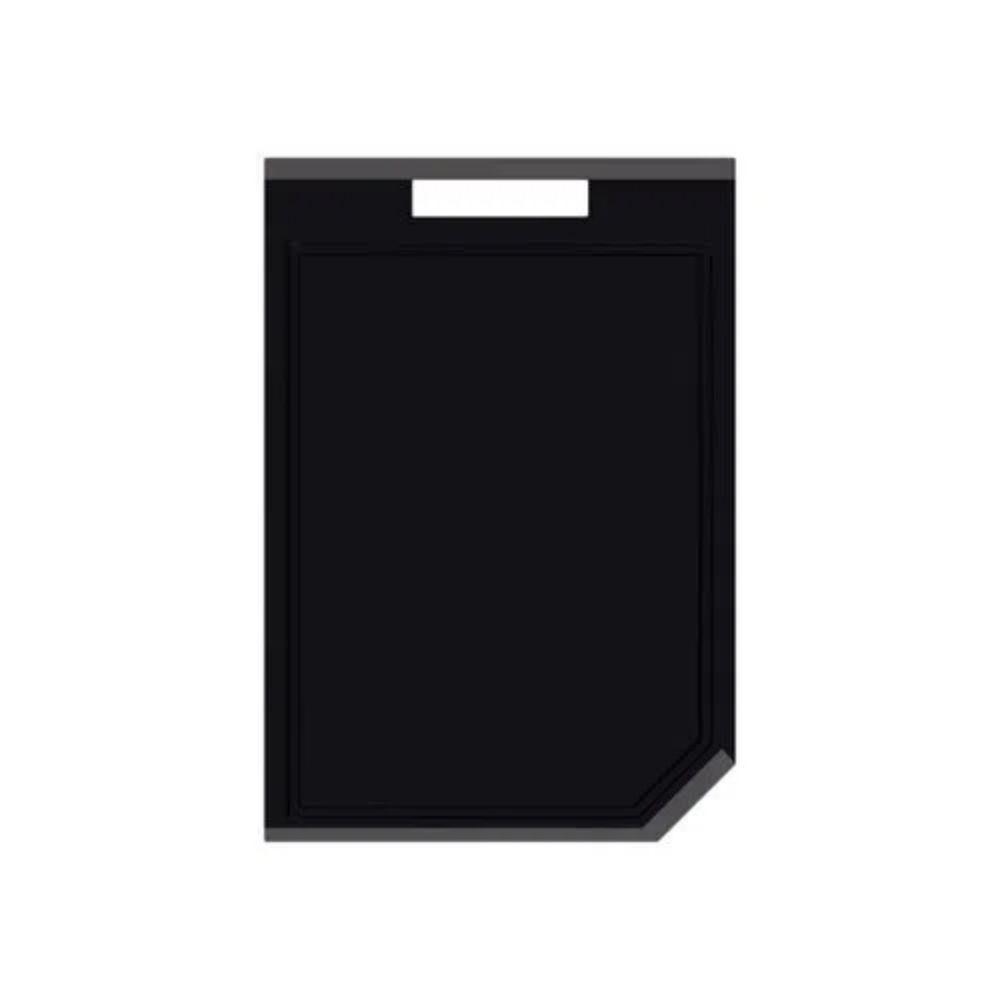 Tábua de Corte Tramontina Churrasco Black em Polipropileno Preto  - Sua Casa Gourmet e Cia