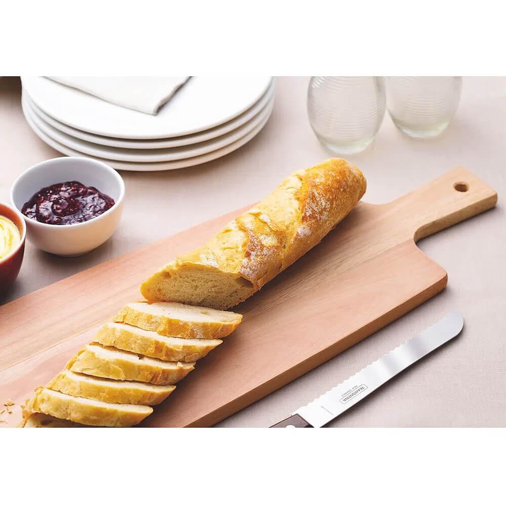 Tábua de Madeira Cut e Taste 48x19cm Tramontina  - Sua Casa Gourmet e Cia
