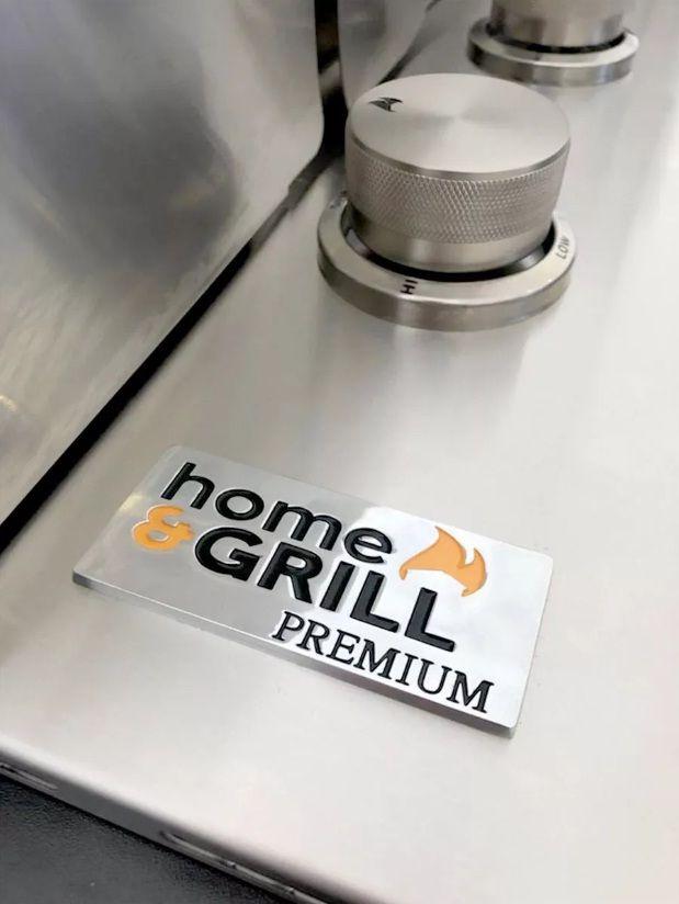 Tampa para Churrasqueira Drop-In Home&Grill 2B  - Sua Casa Gourmet e Cia