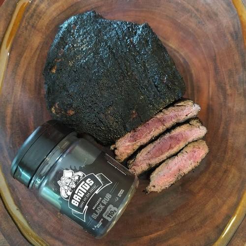 Tempero Black Rub Para Carne Churrasco 110g - 6 Unidades  - Sua Casa Gourmet e Cia