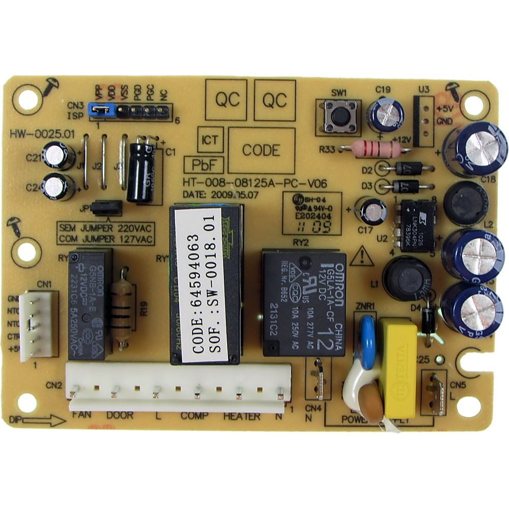 Placa De Potência Refrigerador Electrolux Df34A