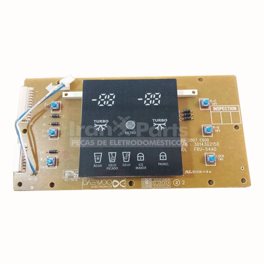 Placa Dispenser Completa Refrigerador Electrolux Sh70X Sh70B