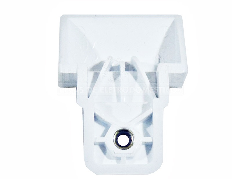 Suporte Puxador Branco Refrigerador Electrolux Df80 Dfi80