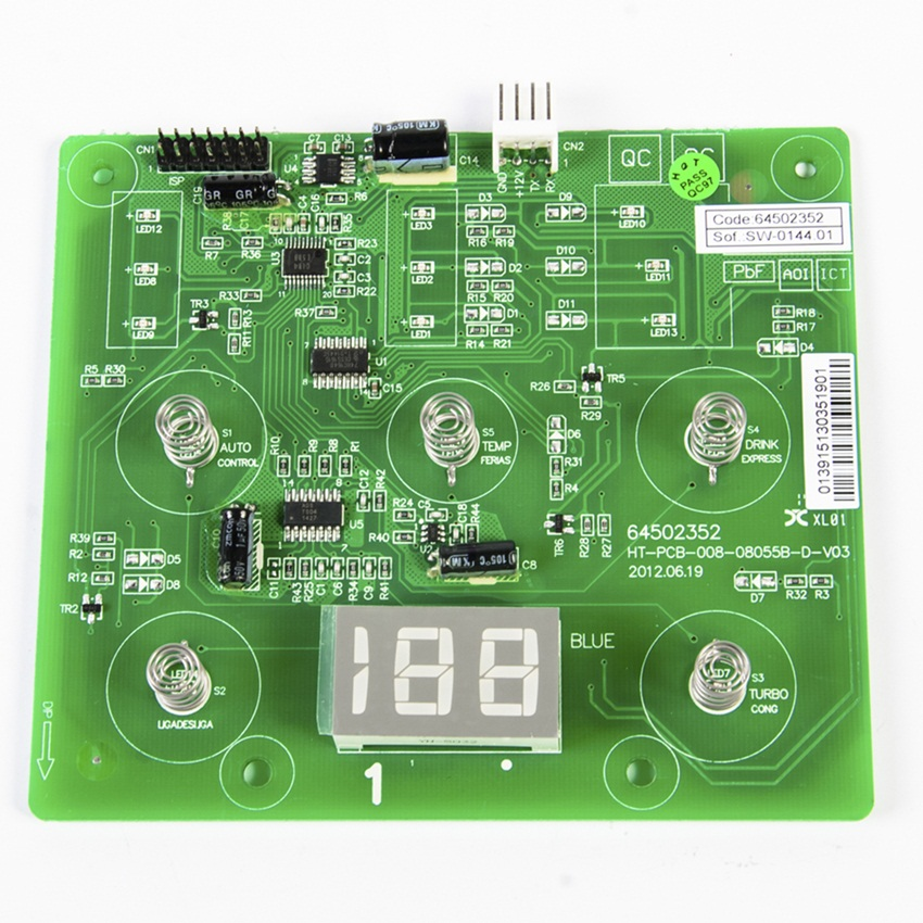 Placa Interface Electrolux Df80 Df80X Dfw51 Dw51X Dwn51