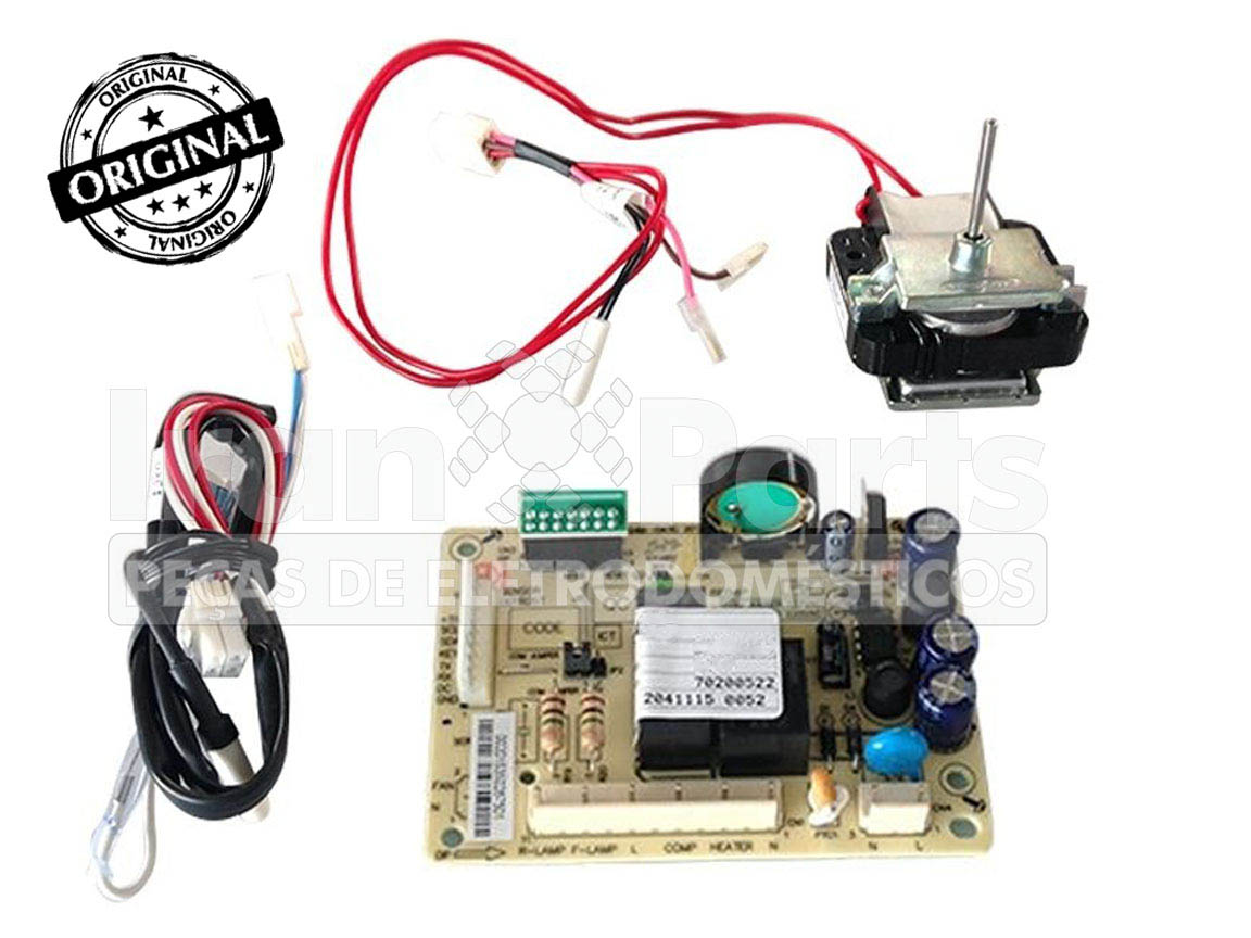 Kit Placa Sensor Electrolux Df47 Df50 Df50X Dfw50 Dw49X