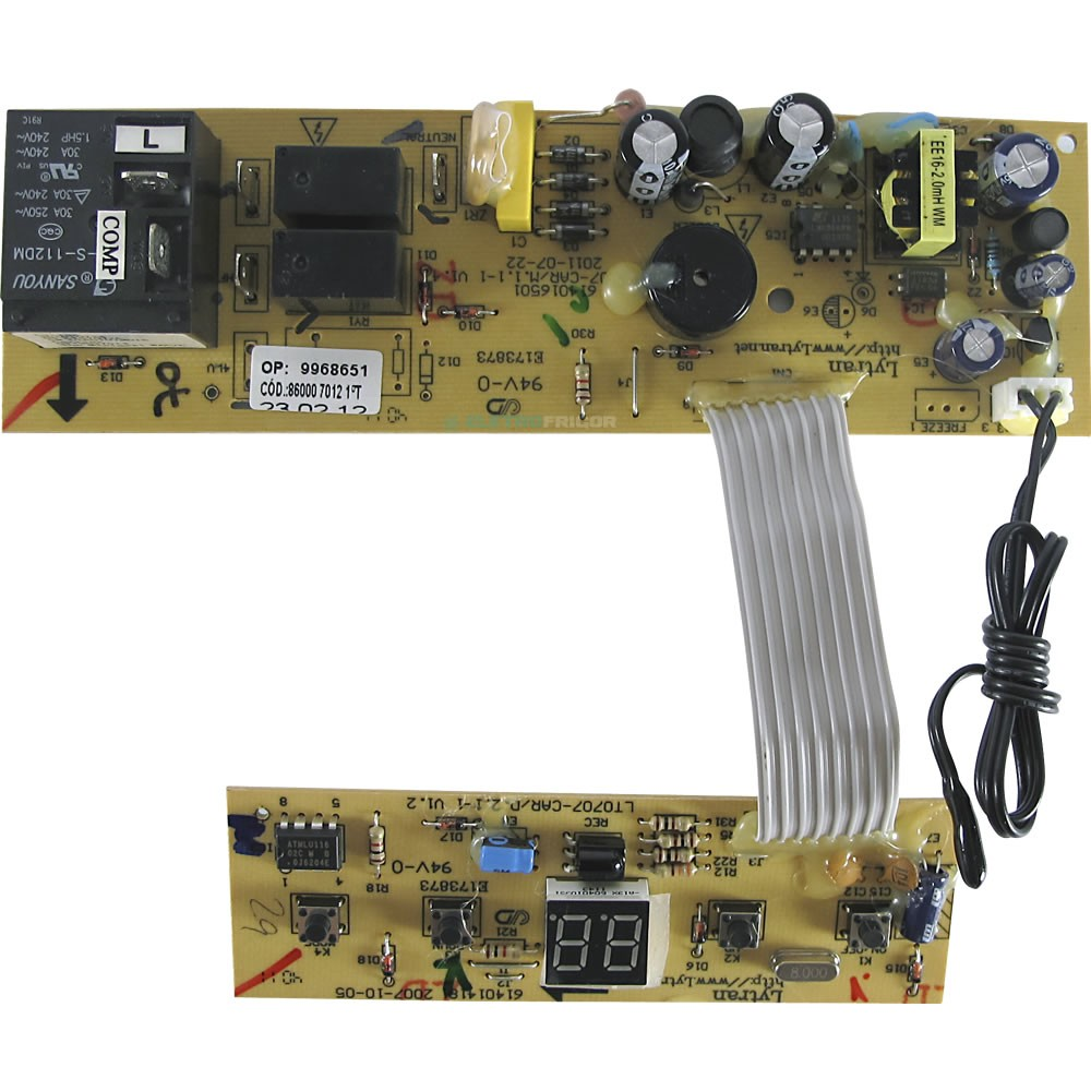 Placa Eletrônica Ar Condicionado Janela Springer Duo Qca07 Qca10