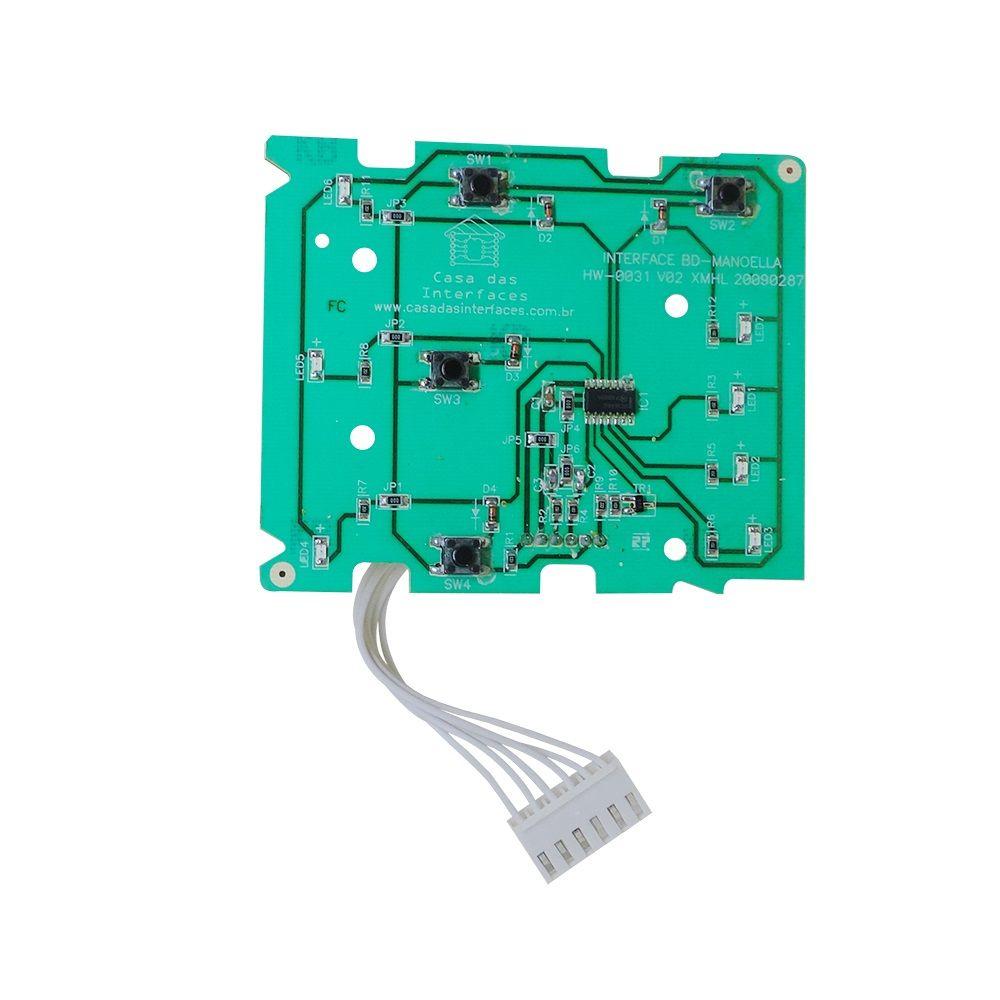 Placa Interface Compatível Electrolux Lte08 CDI – 64500292