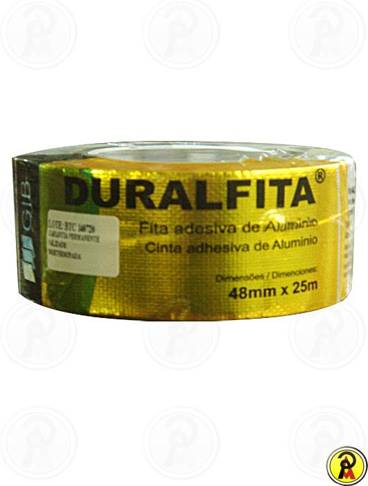 Fita Duralfita Aluminizada 4,8X25m