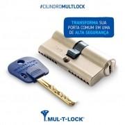 Cilindro de Alta Segurança EURO Integrator 62mm Mul-T-Lock