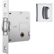 Fechadura Banheiro - Stam Rolete 1025 Cromado Quadrada