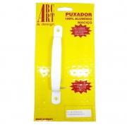 Puxador de Alumínio ABC Art.  - Encartelado Branco 140mm x 15mm