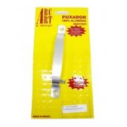 Puxador de Alumínio ABC Art.  - Encartelado Escovado 140mm x 15mm