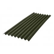 Telha Ecológica Onduline Clássica Fit 0,75X2,00m Verde