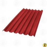 Telha Onduline Stilo 0,95cm X 2,00ml Vermelha