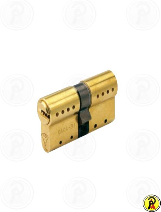 Cilindro de Alta Segurança EURO 62mm perfil 236S - Dourado Mul-T-Lock