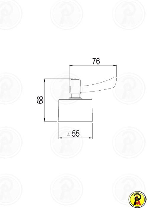Acabamento Registro Gaveta e Pressão Lorenzetti LorenSquare 4901 C67