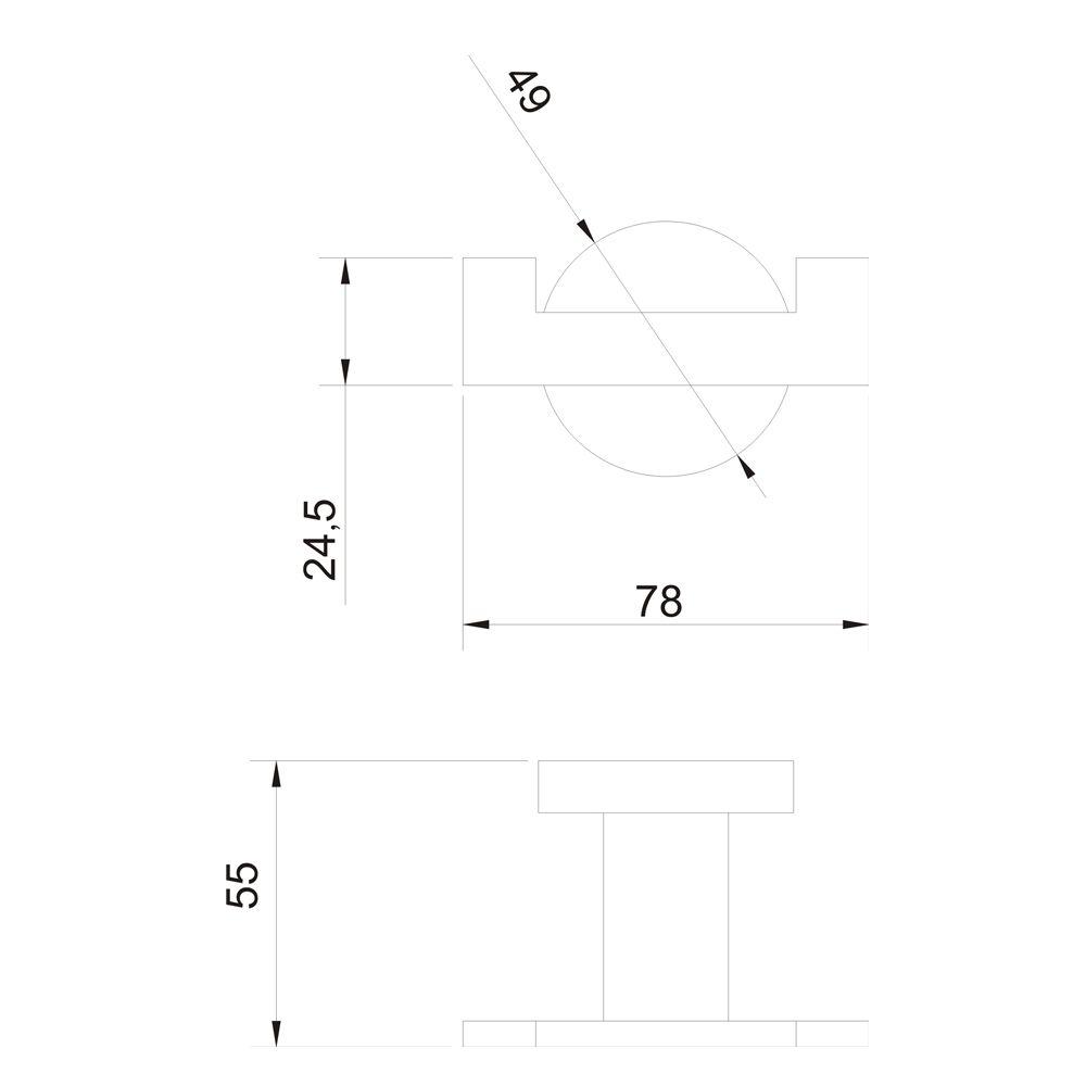 Cabide Duplo Jiwi WJ-1380