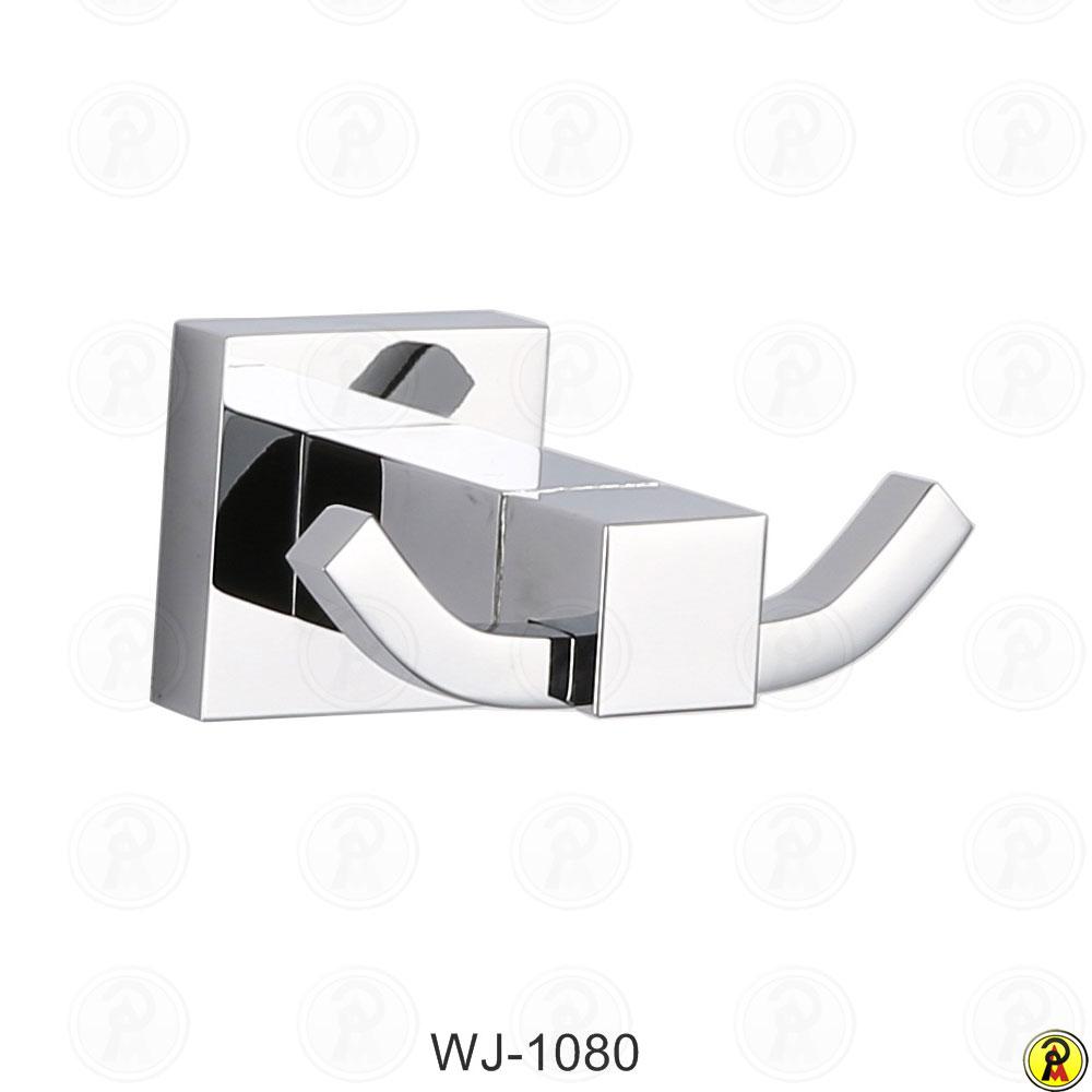 Cabide duplo para banheiro Jiwi WJ-1080