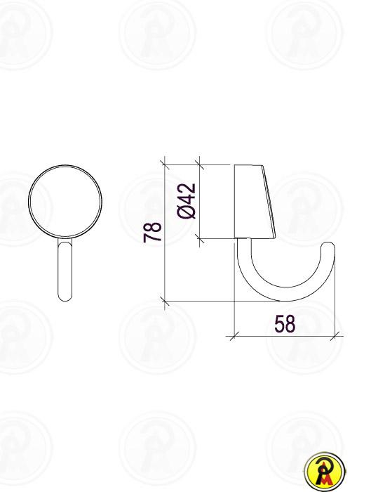 Cabide Lorenzetti LorenFlex 2060 C27