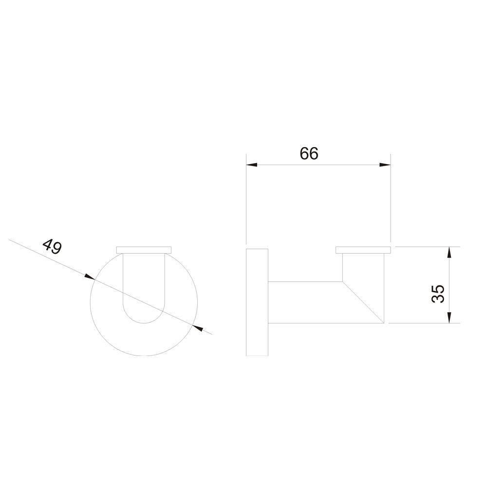 Cabide Simples Jiwi WJ-1180