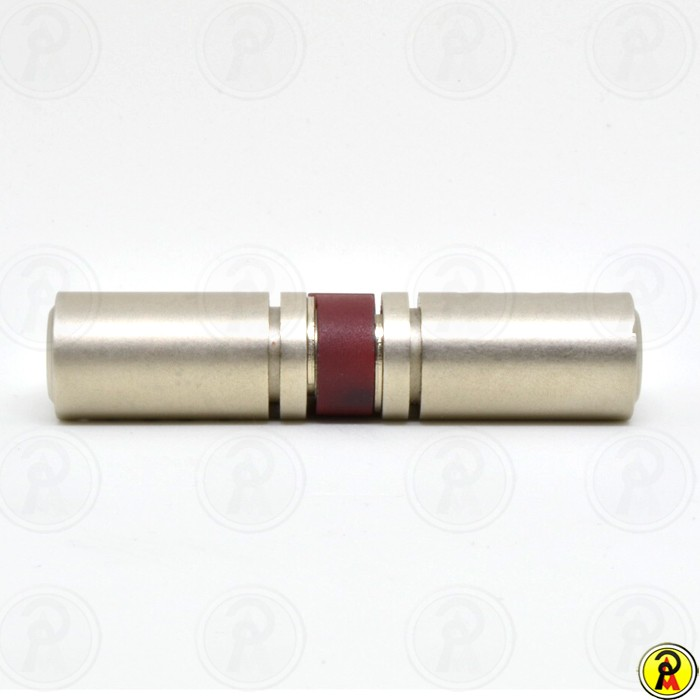Cilindro de Alta Segurança EURO 76 (38 x 38 - Cromo Acetinado) RB Locks  - Pinezi Compra Rápida