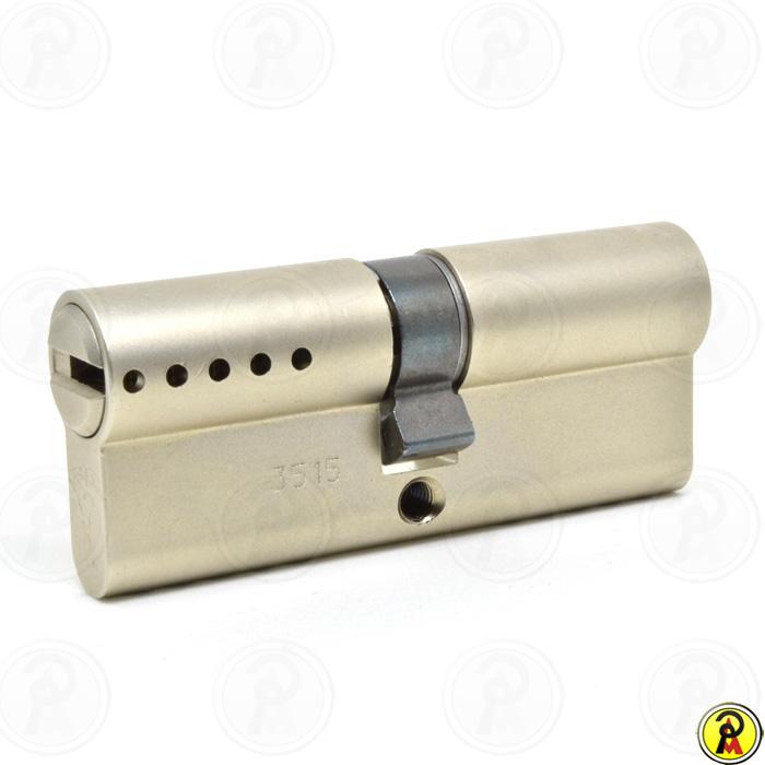 Cilindro de Alta Segurança EURO 76 mm perfil 236S Cromado Mul-T-Lock