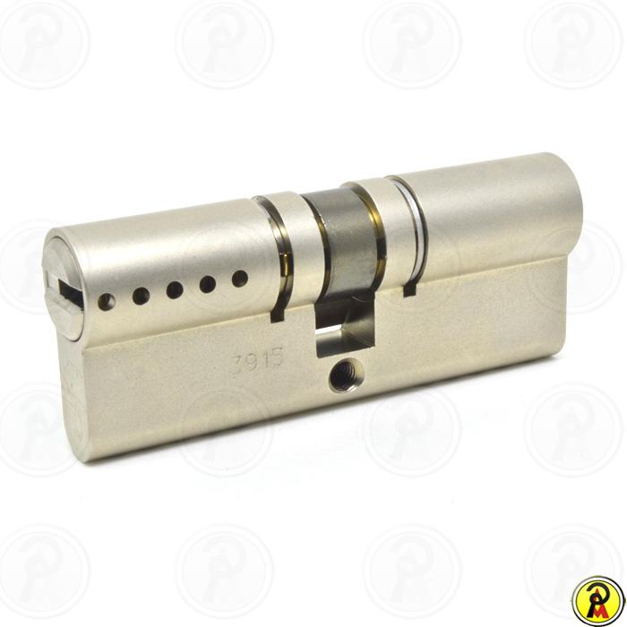 Cilindro de Alta Segurança EURO 80 mm perfil 236S Cromado Mul-T-Lock  - Pinezi Compra Rápida