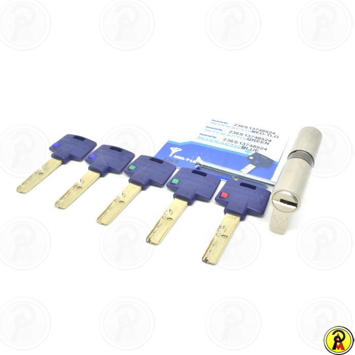 Cilindro de Alta Segurança EURO com TLO 76 mm perfil 236S Mul-T-Lock
