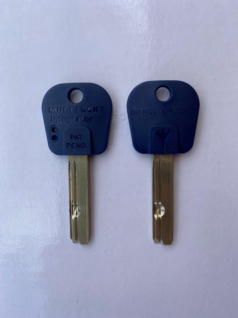 Cópia de Chave Integrator Modelo 476 MUL-T-LOCK