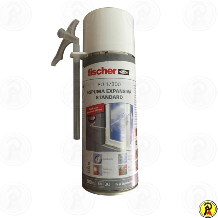 Espuma Expansiva Poliuretano Standard Fischer 300ml