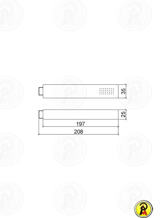 Ducha Manual com Desviador Lorenzetti Forma 5204 C16