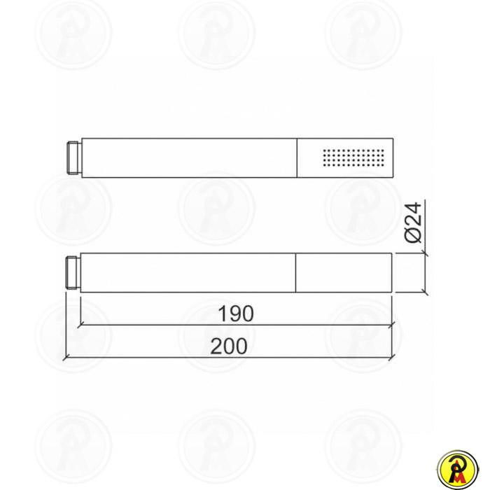 Ducha Manual Com Desviador Lorenzetti Joy 5206 C16