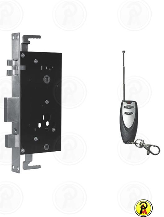 Fechadura Digital Milre com Biometria e Chave Mecânica Bio D Tech 7600
