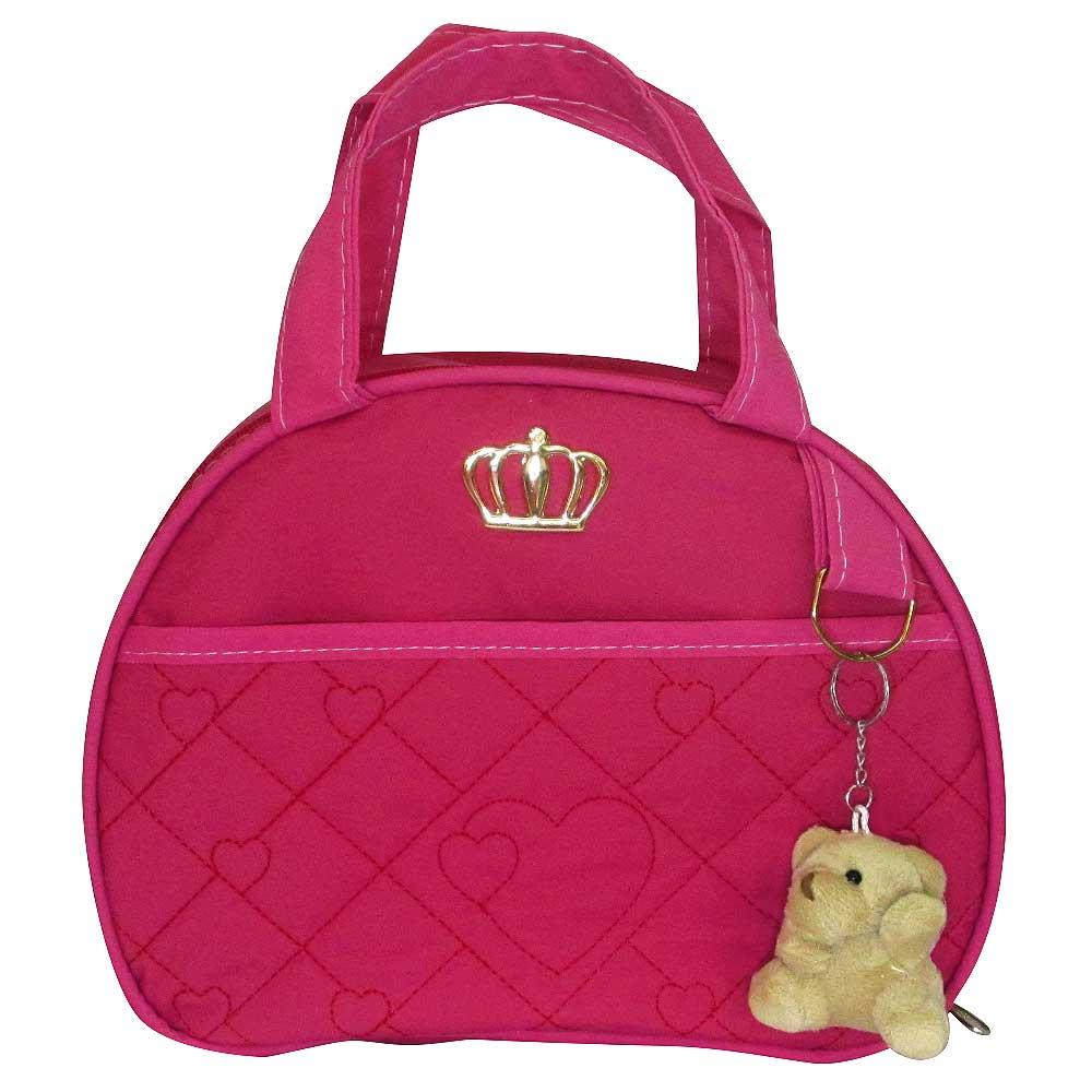 Kit Bolsa Maternidade Jokenpô Ludy Baby Coroa Pink