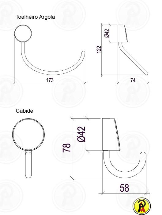 Kit de Acessorios com 5 Peças Lorenflex 2000 C27