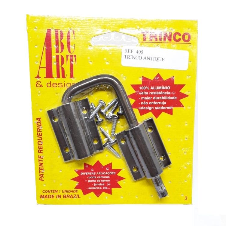 KIT Ferragem de Porta Camarão Antique Completo