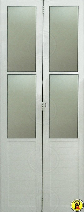 Kit Montado Porta Camarão Predial com Vidro Boreal em Alumínio Branco Lux Esquadrias - 80 cm Largura, Esquerda