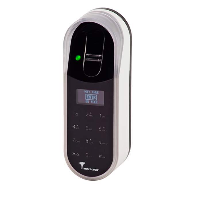 Leitor Digital com Biometria para Fechadura Digital ENTR de Alta Segurança Mul-T-Lock