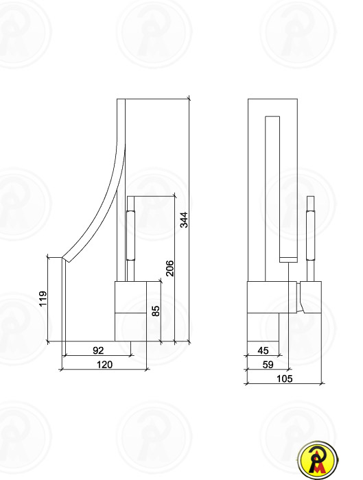 Misturador Monocomando para Lavatório Lorenzetti LorenWave 2875 C77