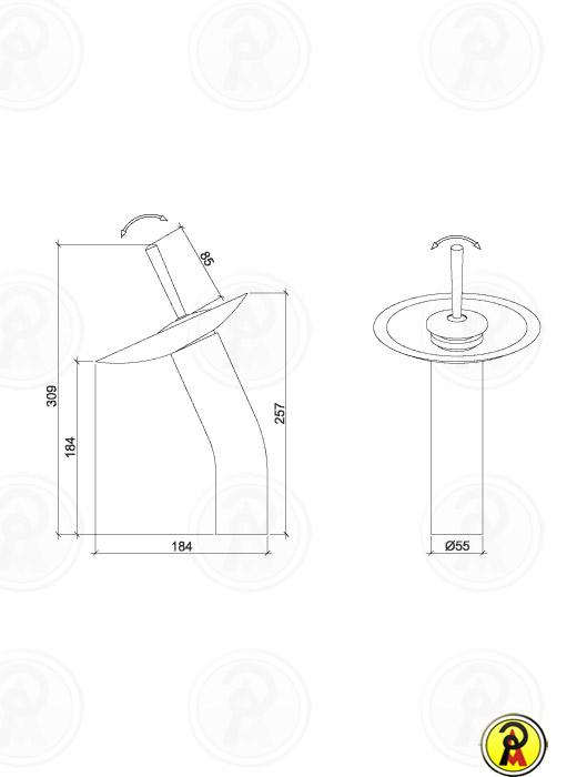 (Vendas Suspensas) Misturador Monocomando para Lavatório Bica Alta Lorenzetti Waterfall  2877 C70