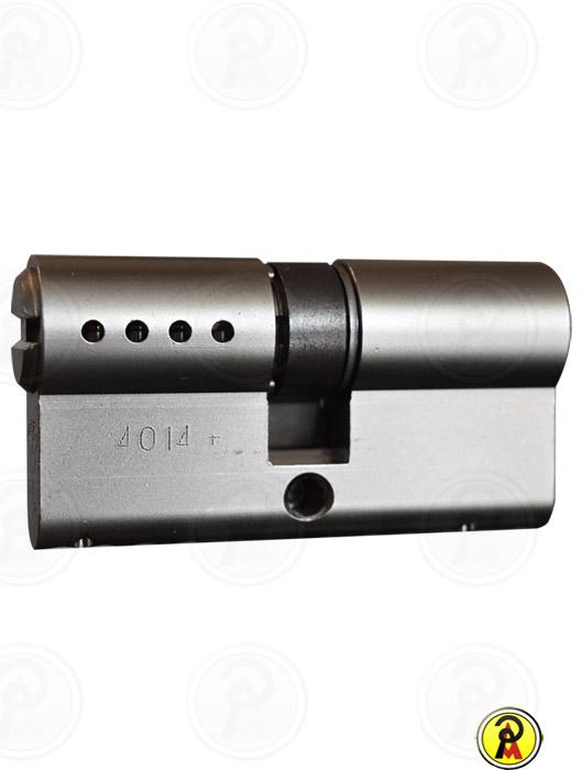 Cilindro de Alta Segurança EURO 62 mm perfil 236S CRA (Cromo Acetinado) Mul-T-Lock