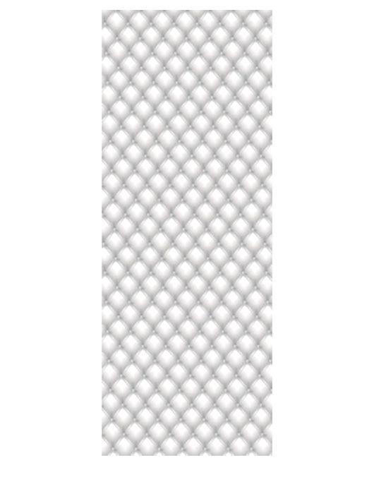 Painel Fotográfico Autocolante para Porta Capitonê Branco 2,15x0,92m TacDecor