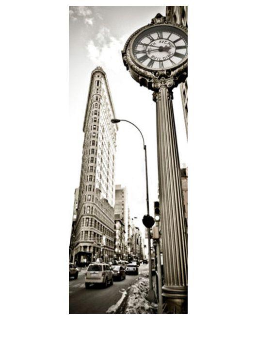 Painel Fotográfico Autocolante para Porta New York 2,15x0,92m TacDecor