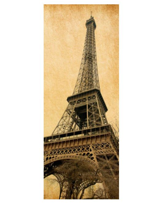 Painel Fotográfico Autocolante para Porta Torre Eiffel 2,15x0,92m TacDecor