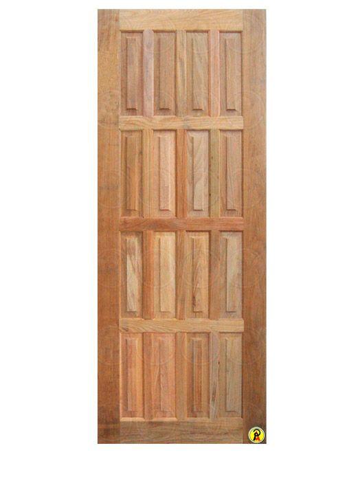 Porta de Entrada Maciça 16 Almofadas 82 cm