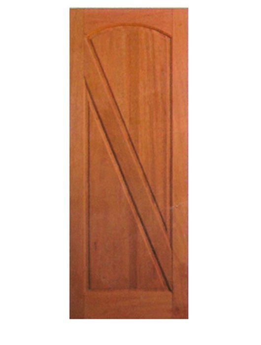 Porta de Entrada Maciça 2 Almofadas Diagonal
