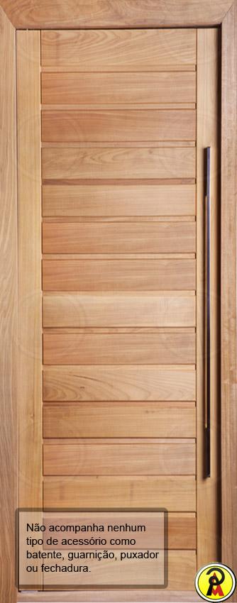 Porta de Entrada Maciça AD 01 Mapaf 0,62m