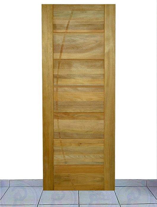 Porta de Entrada Maciça Crisan 3 Slim 82CM