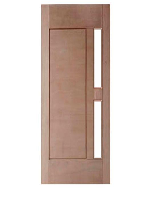 Porta de Entrada Maciça 1 Almofada para Vidro